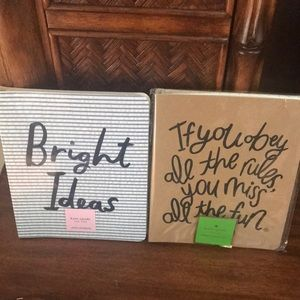 Kate spade ♠️ Notebook bundle